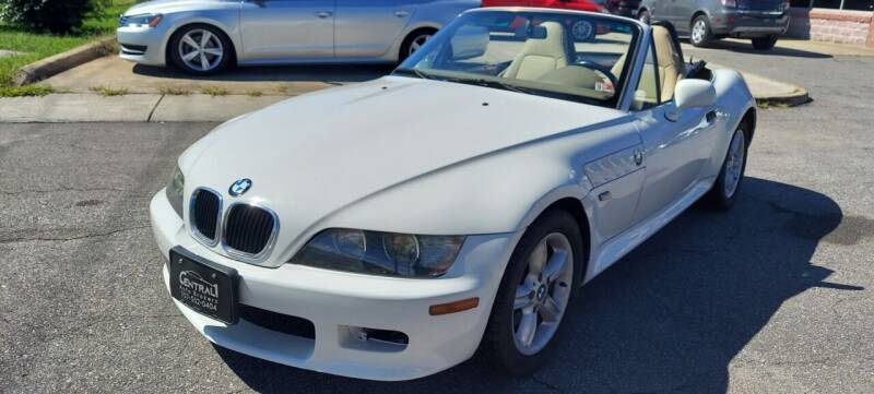 2000 BMW Z3 for sale at Central 1 Auto Brokers in Virginia Beach VA