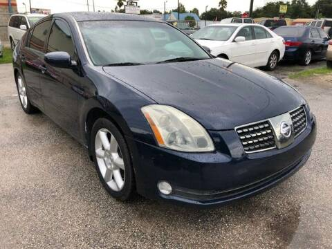 2004 Nissan Maxima for sale at Marvin Motors in Kissimmee FL