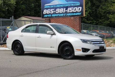 2010 Ford Fusion Hybrid for sale at Skyline Motors in Louisville TN