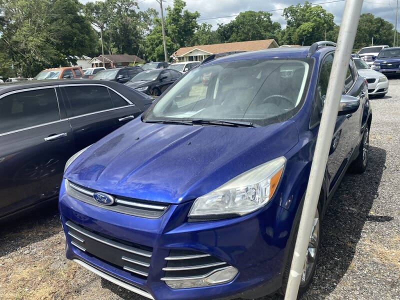 2015 Ford Escape for sale at THE COLISEUM MOTORS in Pensacola FL