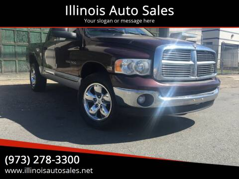 2005 Dodge Ram Chassis 1500 for sale at Illinois Auto Sales in Paterson NJ