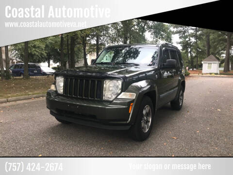 2008 Jeep Liberty for sale at Coastal Automotive in Virginia Beach VA