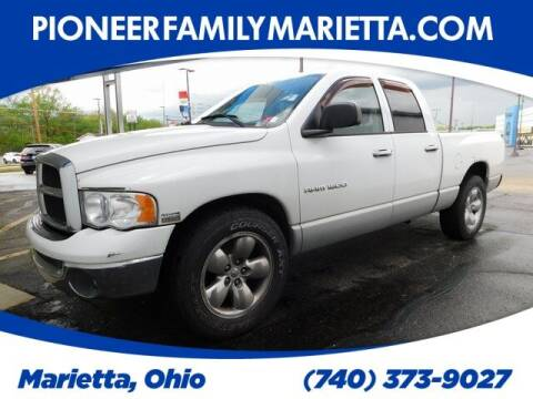 2004 Dodge Ram Pickup 1500 for sale at Pioneer Family preowned autos in Williamstown WV