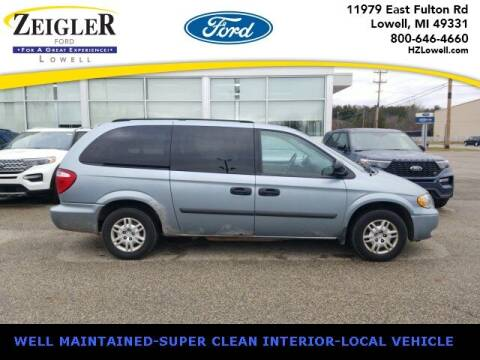 2006 Dodge Grand Caravan for sale at Zeigler Ford of Plainwell- michael davis in Plainwell MI
