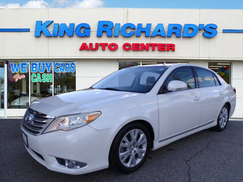 2011 Toyota Avalon for sale at KING RICHARDS AUTO CENTER in East Providence RI