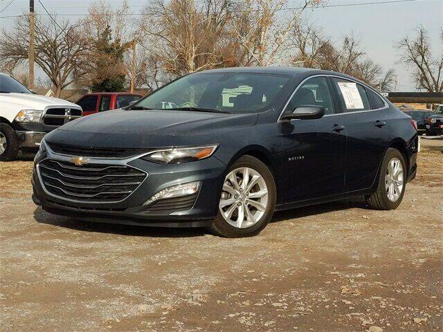 2019 Chevrolet Malibu for sale at Bryans Car Corner in Chickasha OK