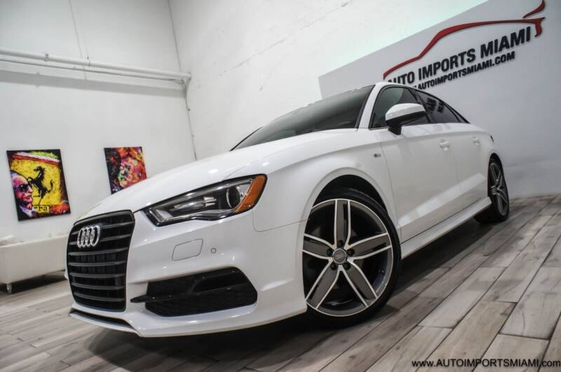 2016 Audi A3 for sale at AUTO IMPORTS MIAMI in Fort Lauderdale FL