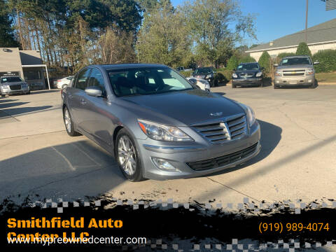 2014 Hyundai Genesis for sale at Smithfield Auto Center LLC in Smithfield NC