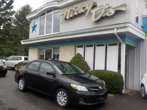 2012 Toyota Corolla for sale at Nicky D's in Easthampton MA