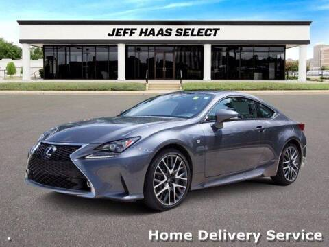 2015 Lexus RC 350 for sale at JEFF HAAS MAZDA in Houston TX
