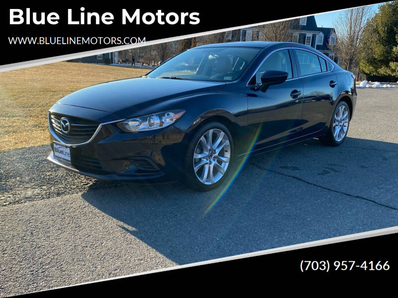2015 Mazda MAZDA6 for sale at Blue Line Motors in Winchester VA