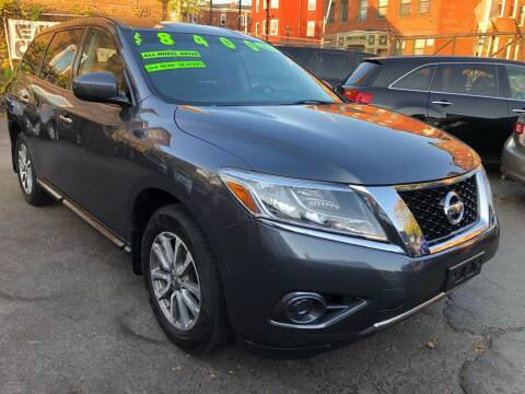 2014 Nissan Pathfinder for sale at James Motor Cars in Hartford CT