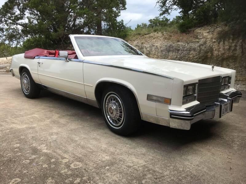 1985 Cadillac Eldorado Biarritz for sale at Mafia Motors in Boerne TX