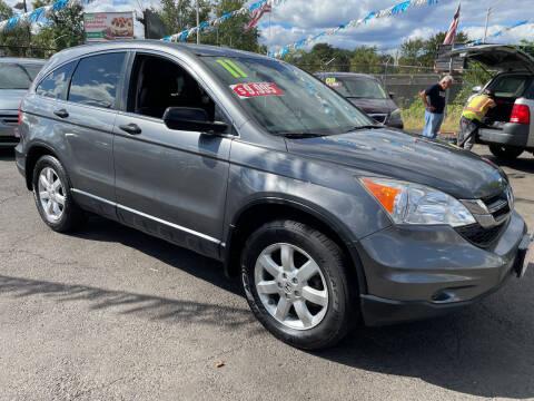 2011 Honda CR-V for sale at Riverside Wholesalers 2 in Paterson NJ