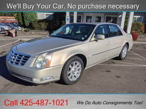 2009 Cadillac DTS for sale at Platinum Autos in Woodinville WA