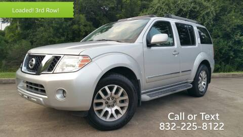 2012 Nissan Pathfinder for sale at Houston Auto Preowned in Houston TX