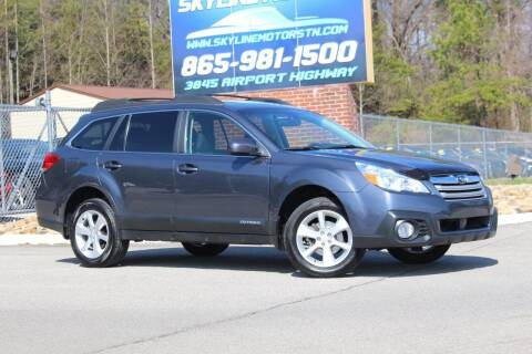 2013 Subaru Outback for sale at Skyline Motors in Louisville TN