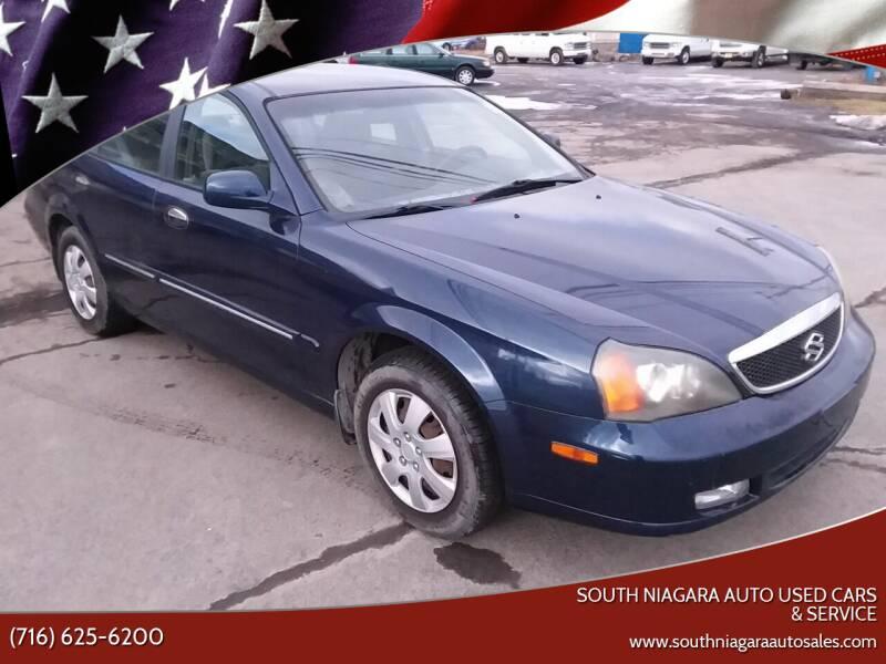 2004 Suzuki Verona for sale at South Niagara Auto Used Cars & Service in Lockport NY