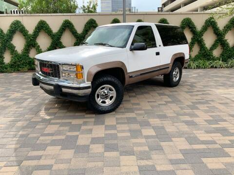 1994 GMC Yukon for sale at ROGERS MOTORCARS in Houston TX
