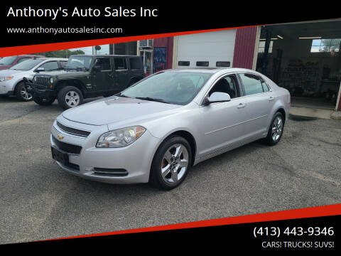 2010 Chevrolet Malibu for sale at Anthony's Auto Sales Inc in Pittsfield MA