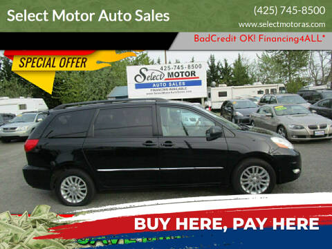 2008 Toyota Sienna for sale at Select Motor Auto Sales in Lynnwood WA