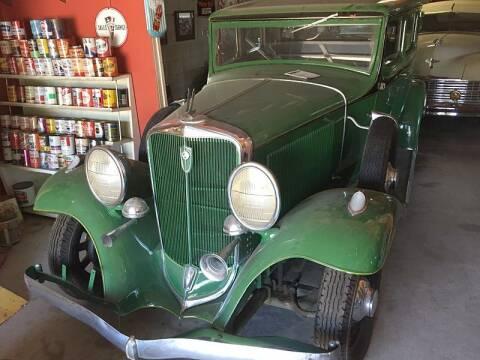 1932 Studebaker MODEL 62 for sale at Collector Car Channel - Desert Gardens Mobile Homes in Quartzsite AZ