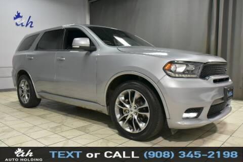 2020 Dodge Durango for sale at AUTO HOLDING in Hillside NJ
