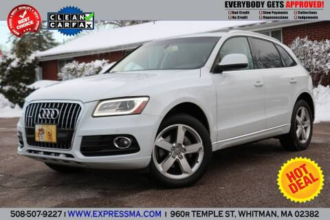 2013 Audi Q5 for sale at Auto Sales Express in Whitman MA