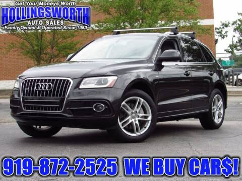 2014 Audi Q5 for sale at Hollingsworth Auto Sales in Raleigh NC