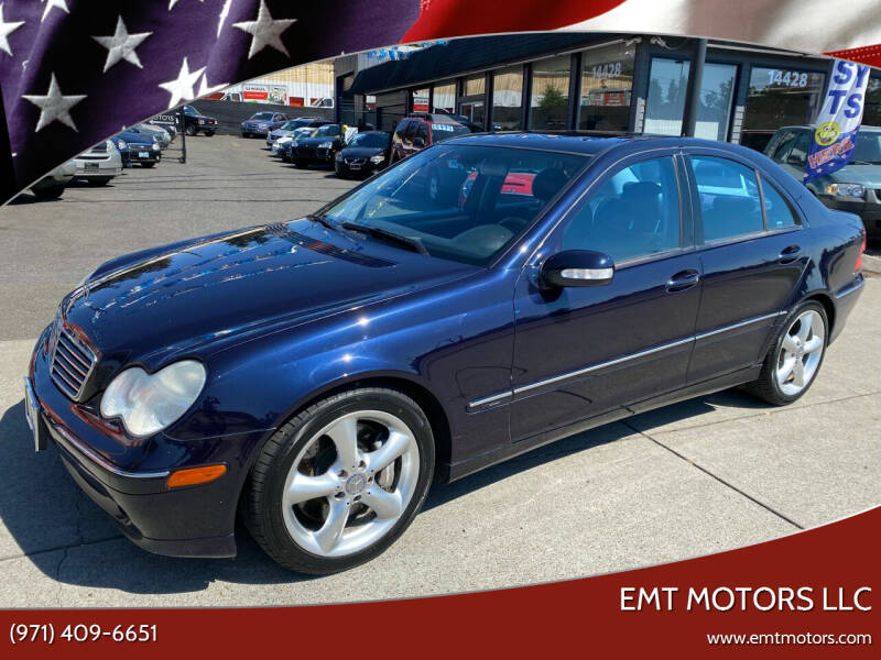 2004 Mercedes-Benz C-Class for sale at EMT MOTORS LLC in Portland OR