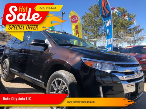 2013 Ford Edge for sale at Duke City Auto LLC in Gallup NM