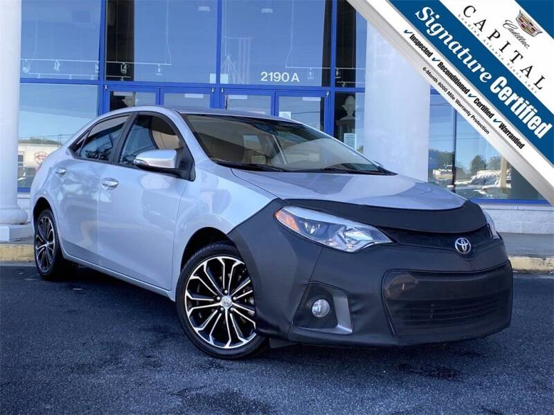 2016 Toyota Corolla for sale at Capital Cadillac of Atlanta in Smyrna GA