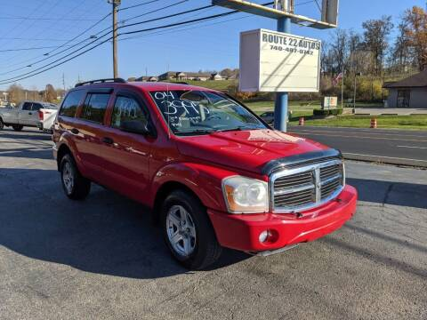 2004 Dodge Durango for sale at Route 22 Autos in Zanesville OH