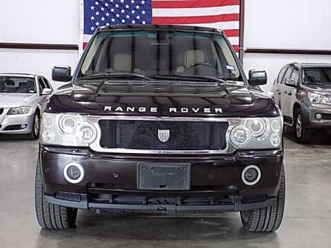 2009 Land Rover Range Rover for sale at Texas Motor Sport in Houston TX