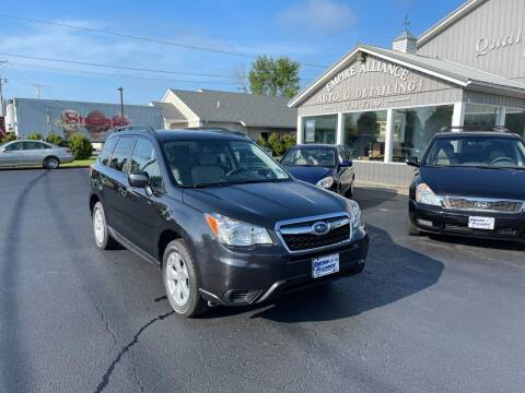 2016 Subaru Forester for sale at Empire Alliance Inc. in West Coxsackie NY