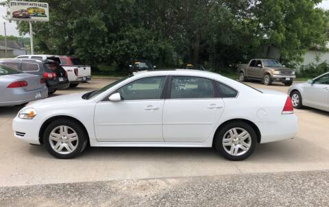 2015 Chevrolet Impala Limited for sale at 6th Street Auto Sales in Marshalltown IA