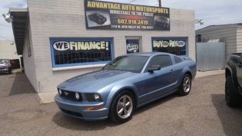 2006 Ford Mustang for sale at Advantage Motorsports Plus in Phoenix AZ