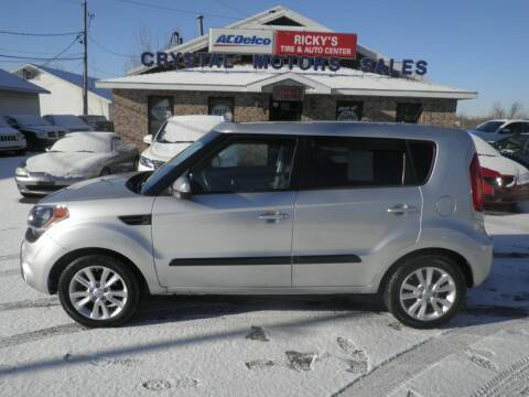 2012 Kia Soul for sale at CRYSTAL MOTORS SALES in Rome NY