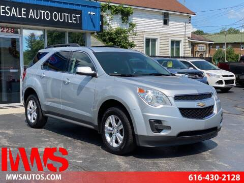 2013 Chevrolet Equinox for sale at MWS Wholesale  Auto Outlet in Grand Rapids MI