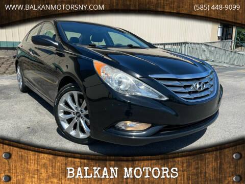 2012 Hyundai Sonata for sale at BALKAN MOTORS in East Rochester NY