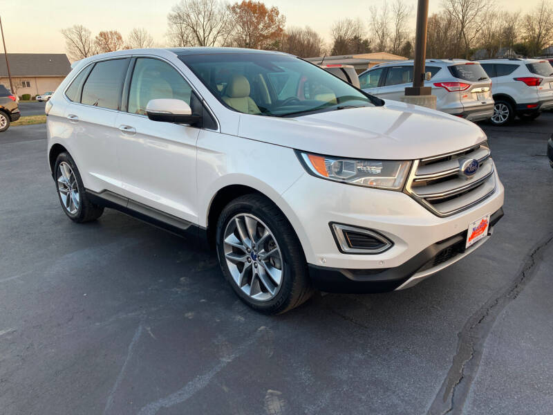 2015 Ford Edge for sale at McCully's Automotive - Trucks & SUV's in Benton KY