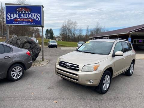 2007 Toyota RAV4 for sale at Sam Adams Motors in Cedar Springs MI