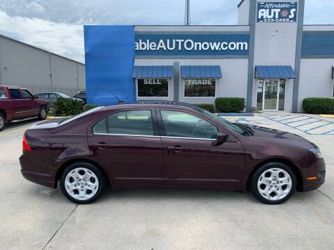 2011 Ford Fusion for sale at Affordable Autos in Houma LA