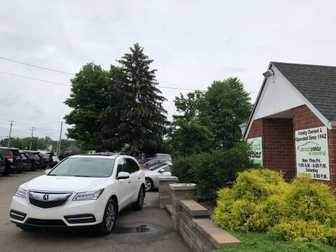 2016 Acura MDX for sale at Direct Sales & Leasing in Youngstown OH