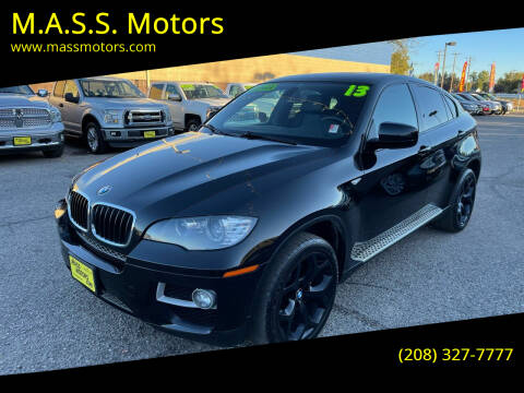 2013 BMW X6 for sale at M.A.S.S. Motors in Boise ID