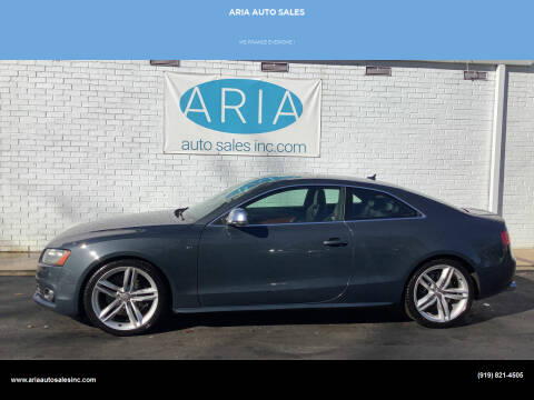 2009 Audi S5 for sale at ARIA  AUTO  SALES in Raleigh NC