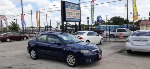 2009 Mazda MAZDA3 for sale at S.A. BROADWAY MOTORS INC in San Antonio TX