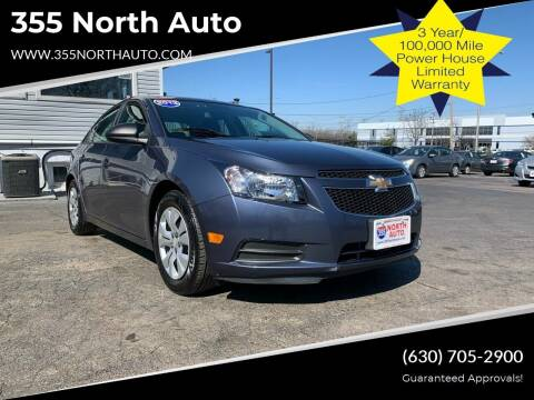 2013 Chevrolet Cruze for sale at 355 North Auto in Lombard IL