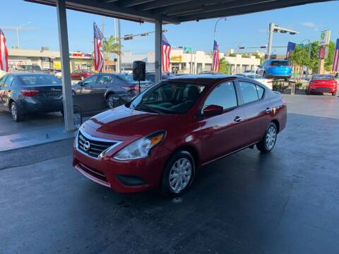 2019 Nissan Versa for sale at American Auto Sales in Hialeah FL