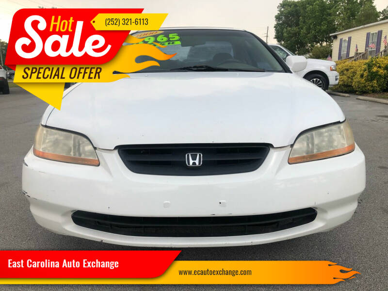 2000 Honda Accord for sale at Greenville Motor Company in Greenville NC